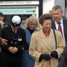 Princess Anne visits Watchet